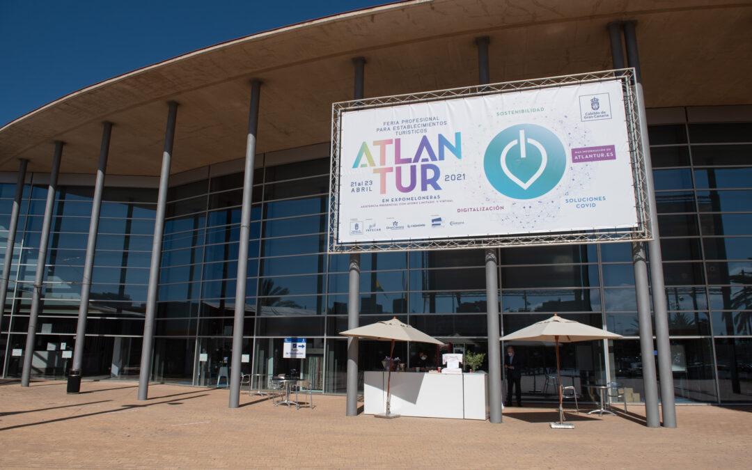 Atlantur 2021 abre sus puertas, poniendo el foco en la tecnología y la internacionalización para reactivar el turismo