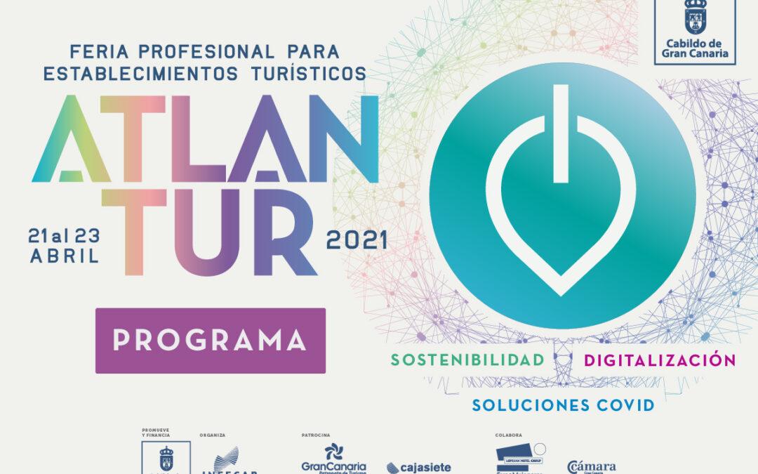 La digitalización, la sostenibilidad y las soluciones COVID protagonizan el programa de una nueva edición de Atlantur, la Feria Profesional para Establecimientos Turísticos